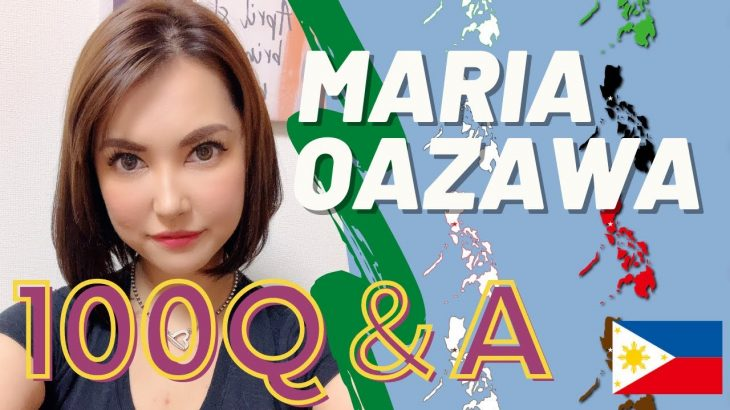 Maria Ozawa 100 Questions about Philippines! 【Q&A】collaboration Video!